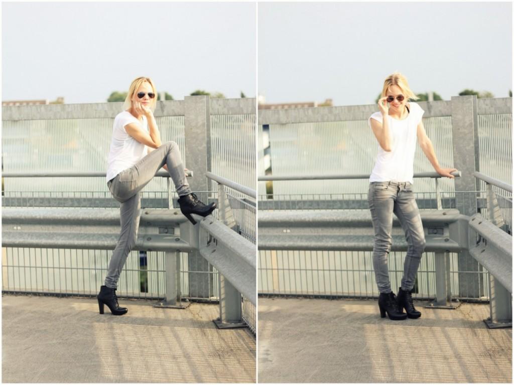 Lolita hakken shoes skinny jeans ray ban