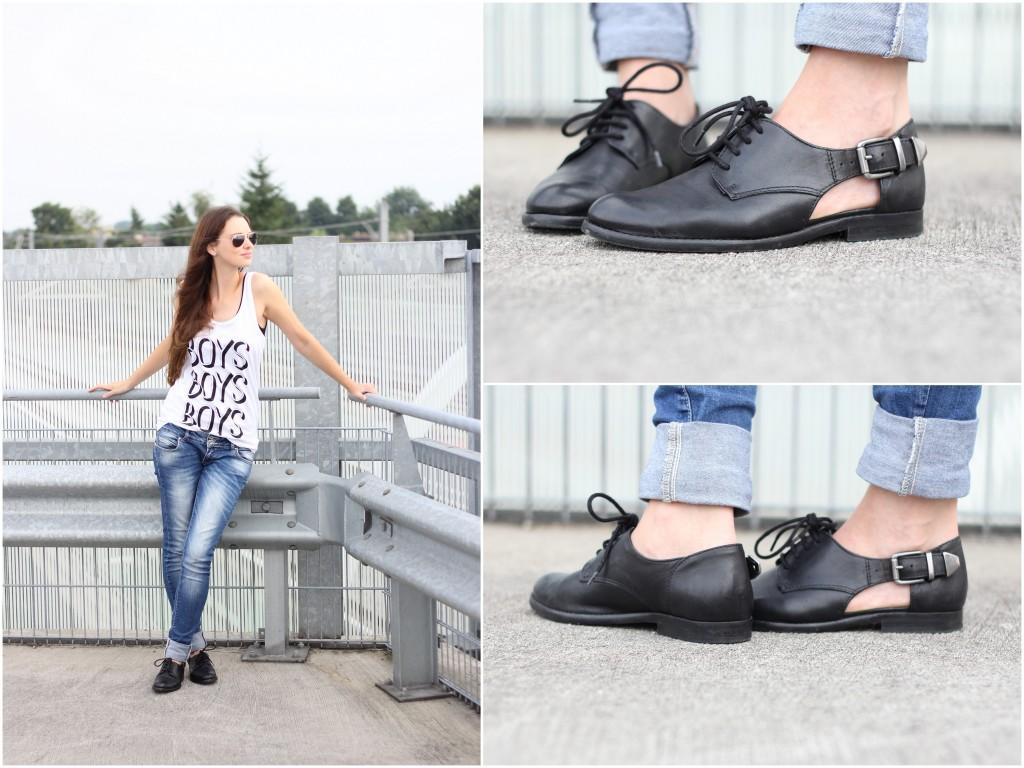 boys tanktop cut out shoes sacha jeans fashion joyce ray ban