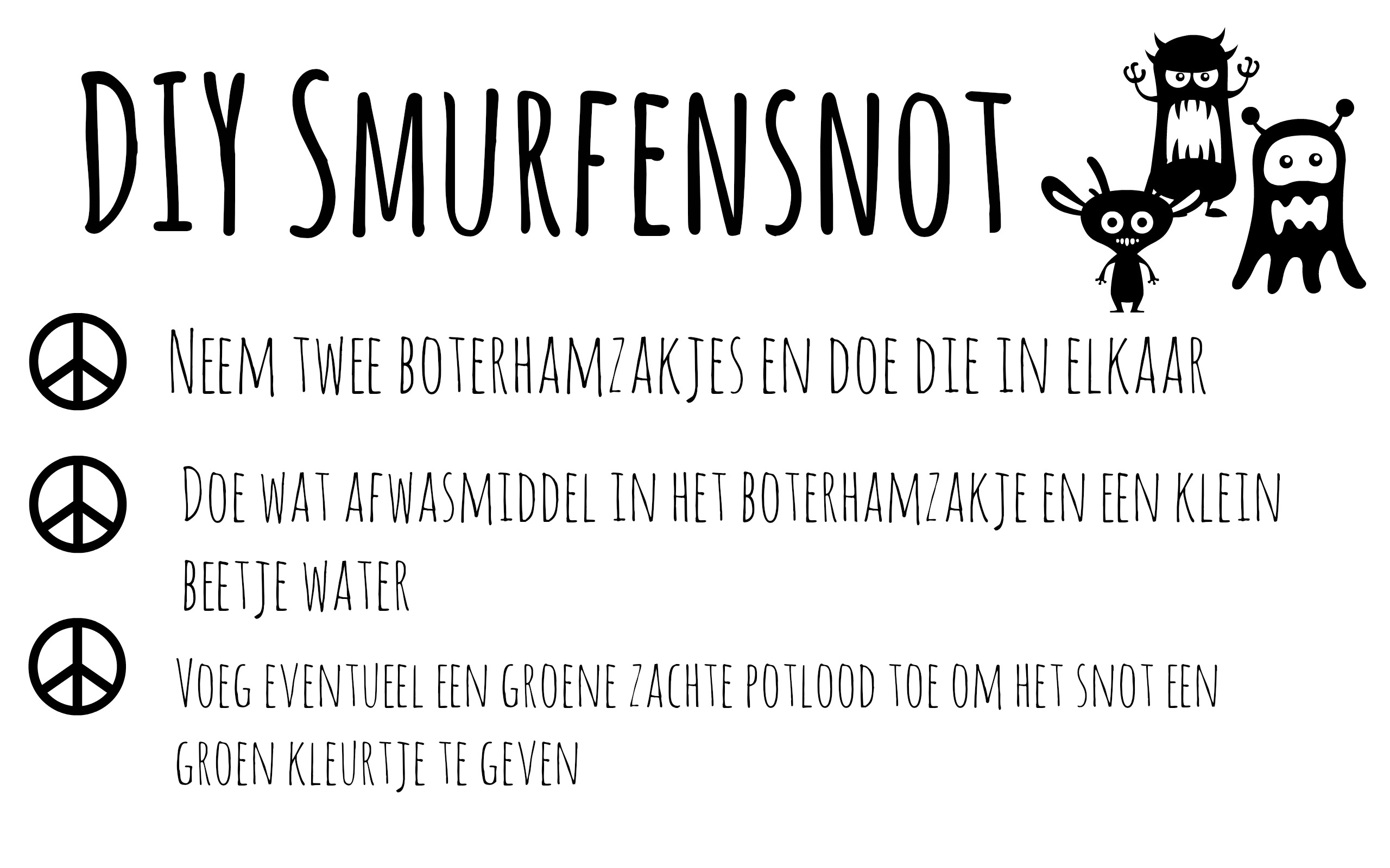 recept smurfensnot