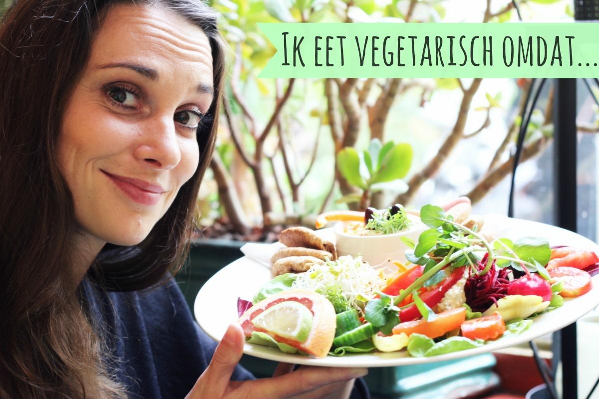 ik eet vegetarisch dag