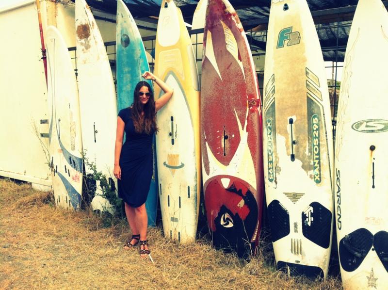 surfplank vrouw joyce everink