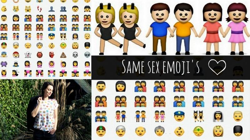same sex emoji's