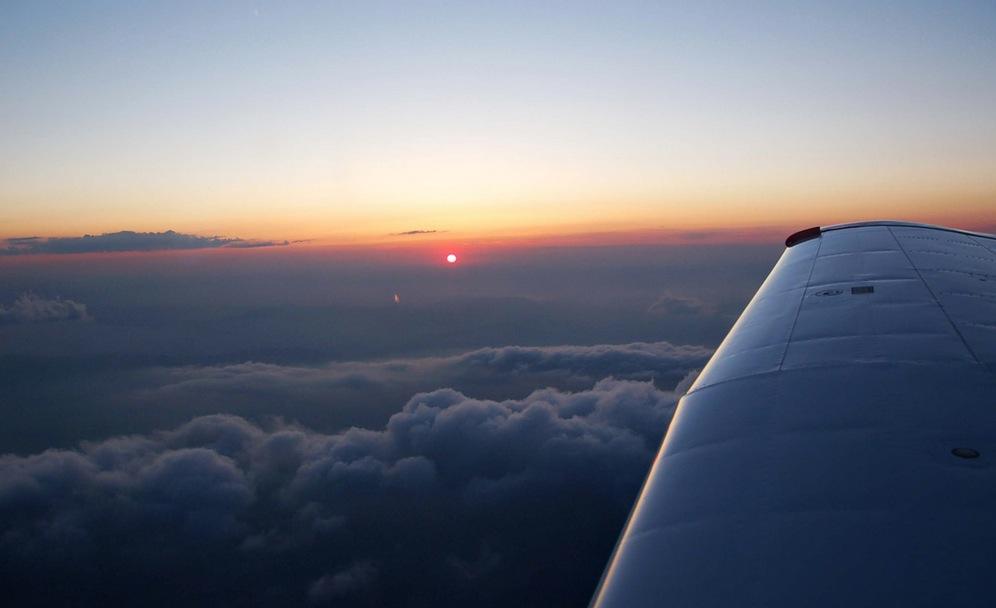 vliegtuig 8 minuten