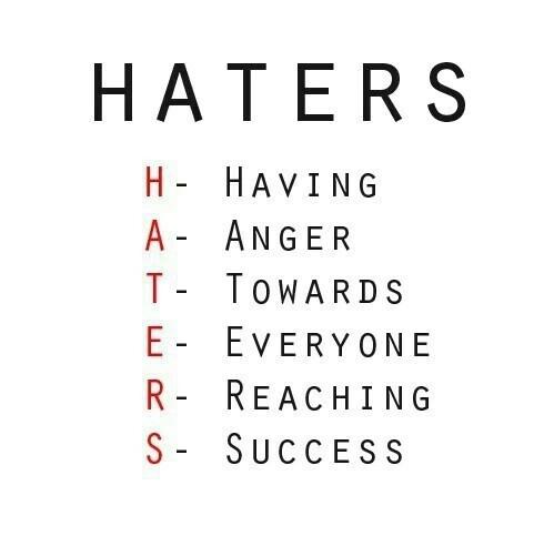 haters vijanden