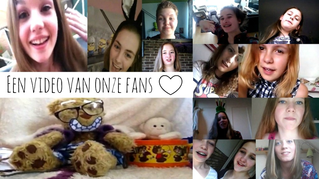 lieve video van onze fans