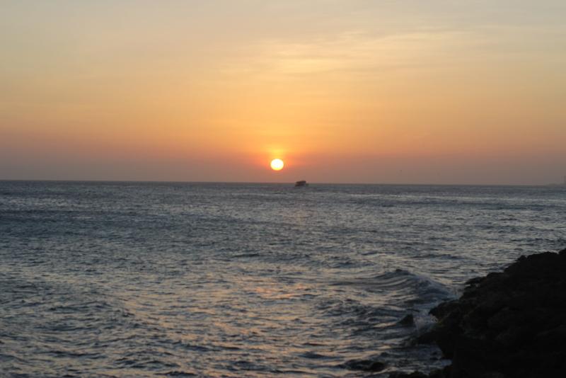 zonsondergang angst