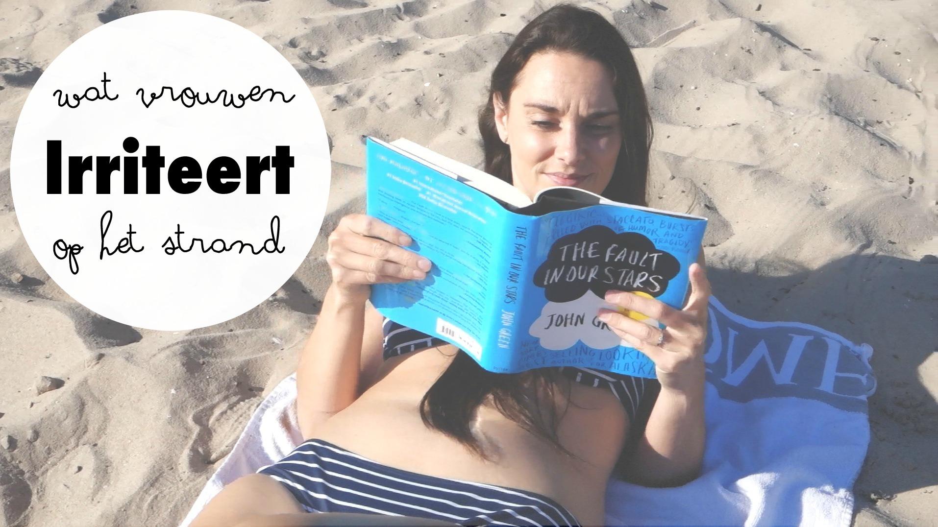 wat vrouwen irriteert op het strand.