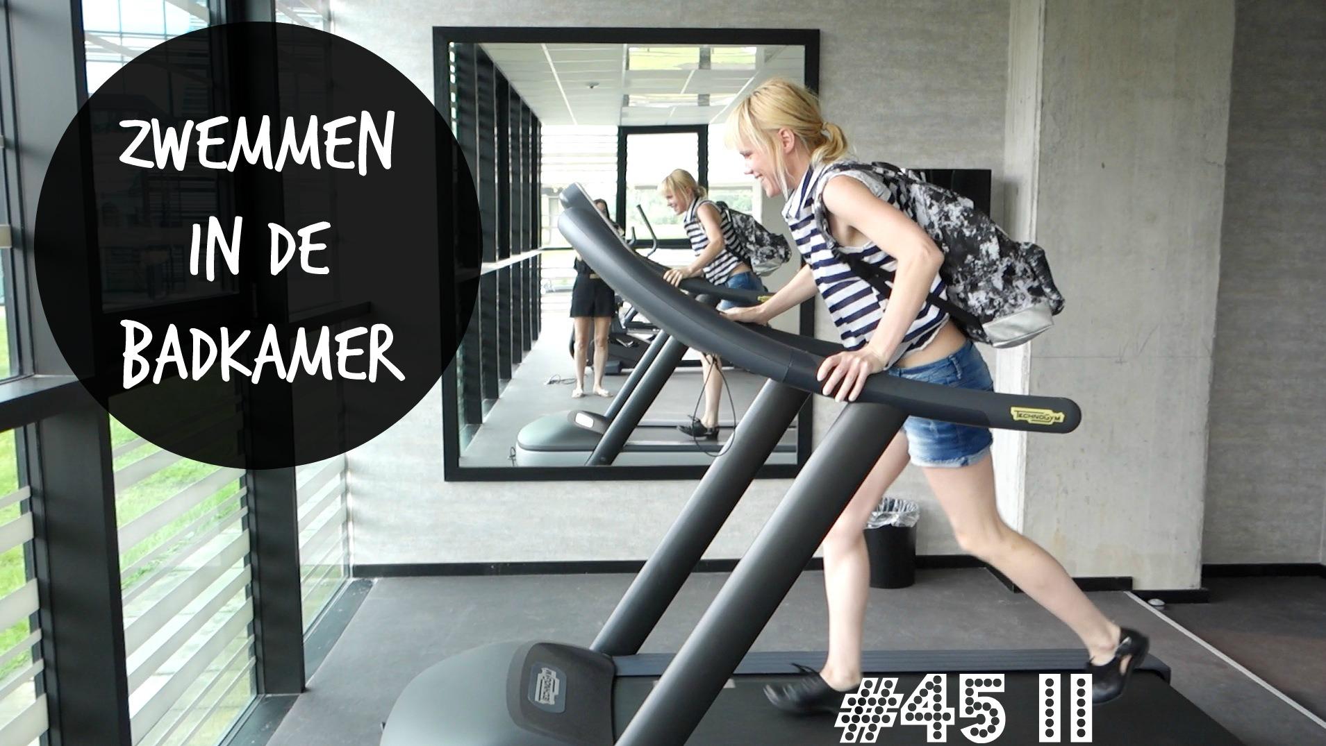 Vlog 45 deel 2: Zwemmen in de badkamer - Ik Vrouw van Jou