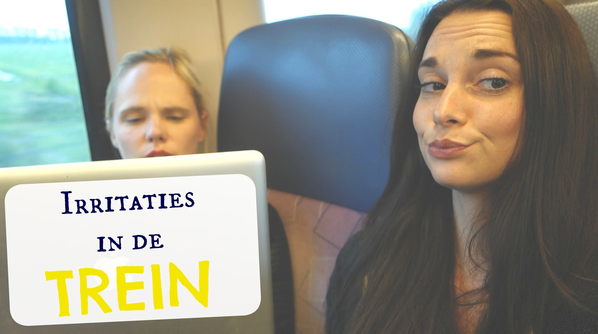 irritaties in de trein