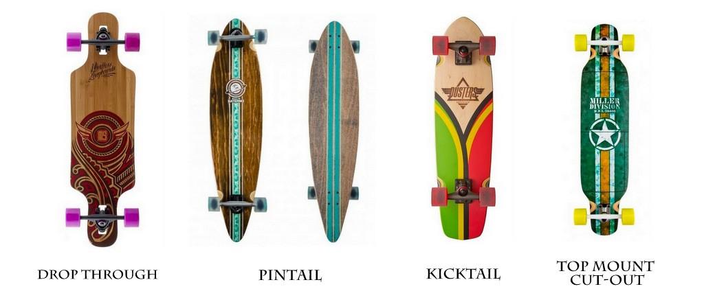 hoe moet je longboarden soorten
