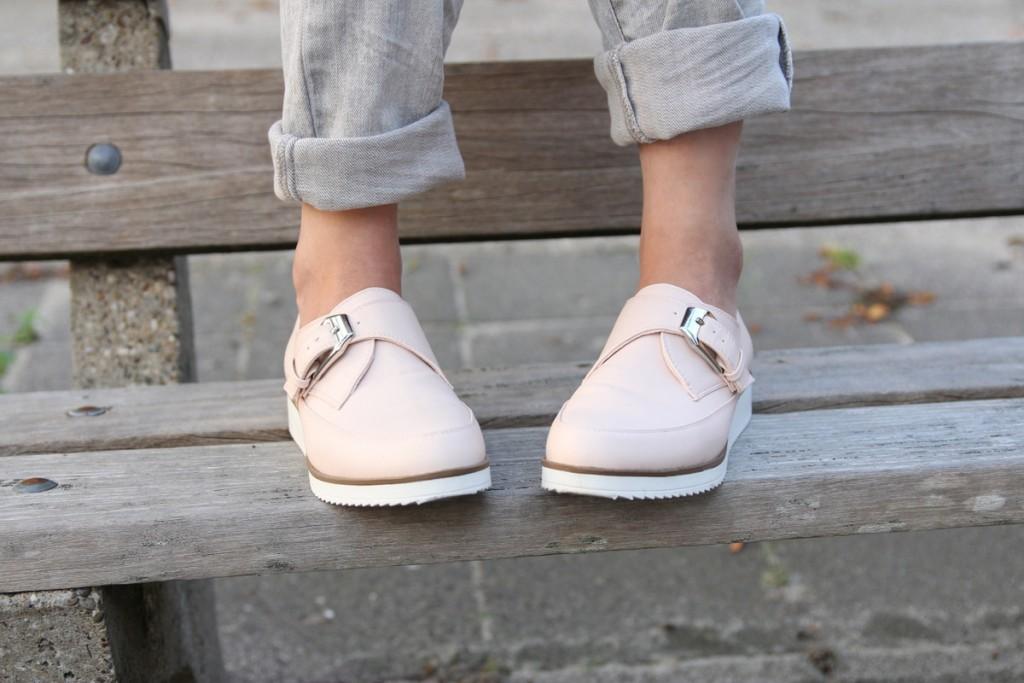 zebra potje shoppen outfit romwe bershka schoenen