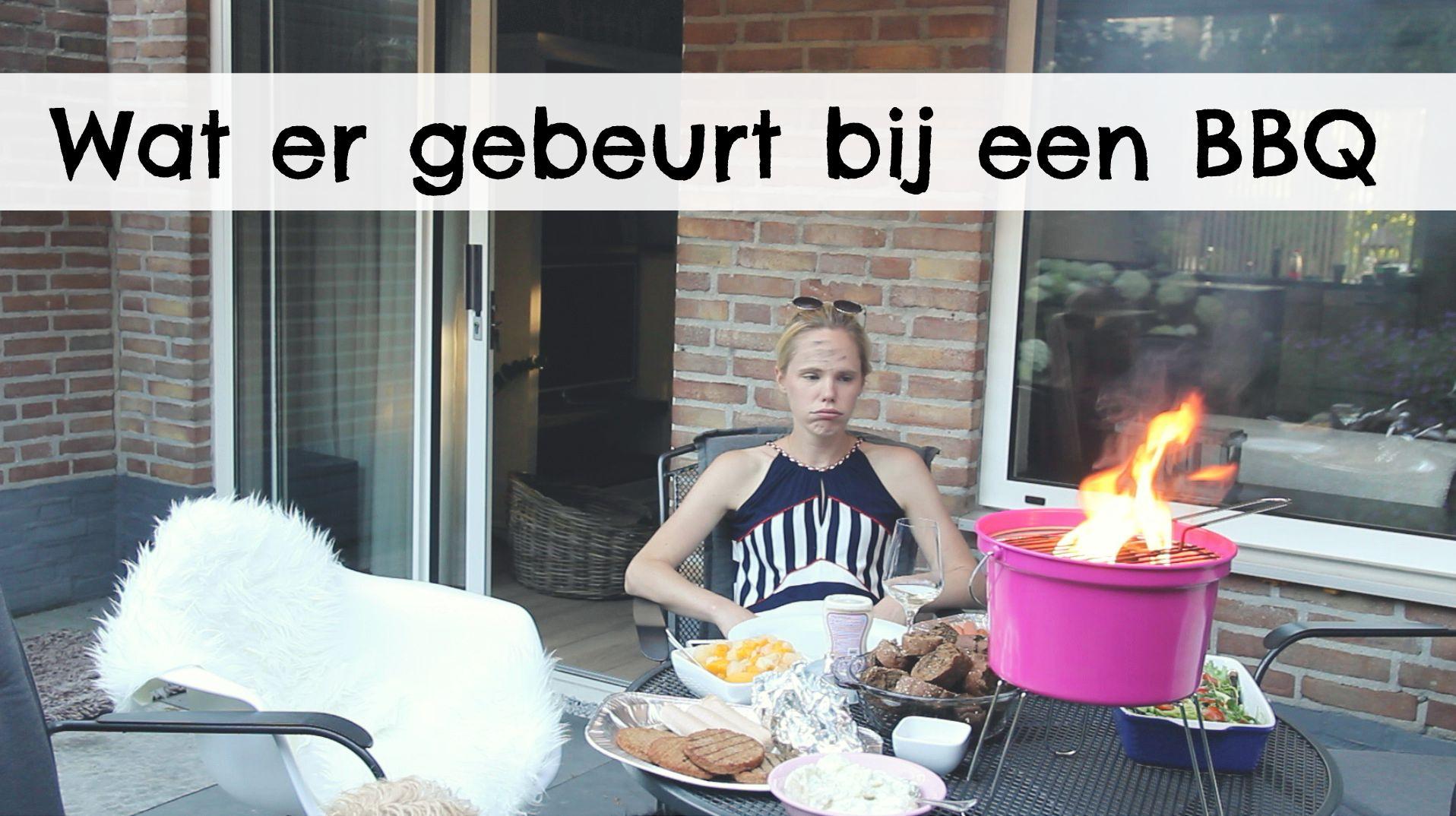 wat er gebeurt bij een barbecue