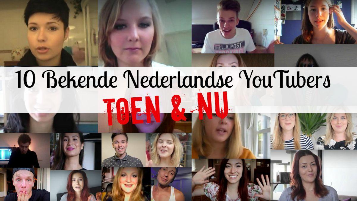 bekende nederlandse youtubers