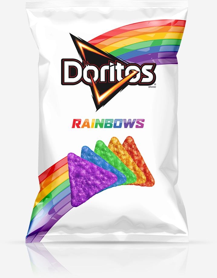 regenboog doritos rainbow