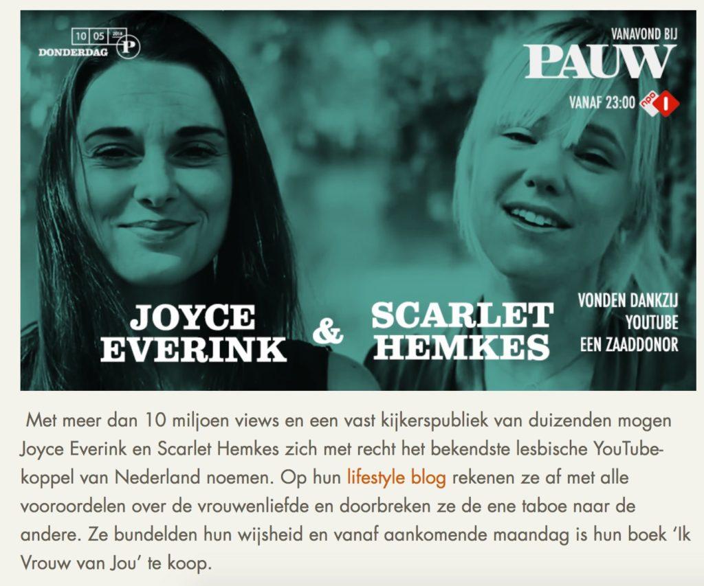 scarlet hemkes Joyce everink Pauw