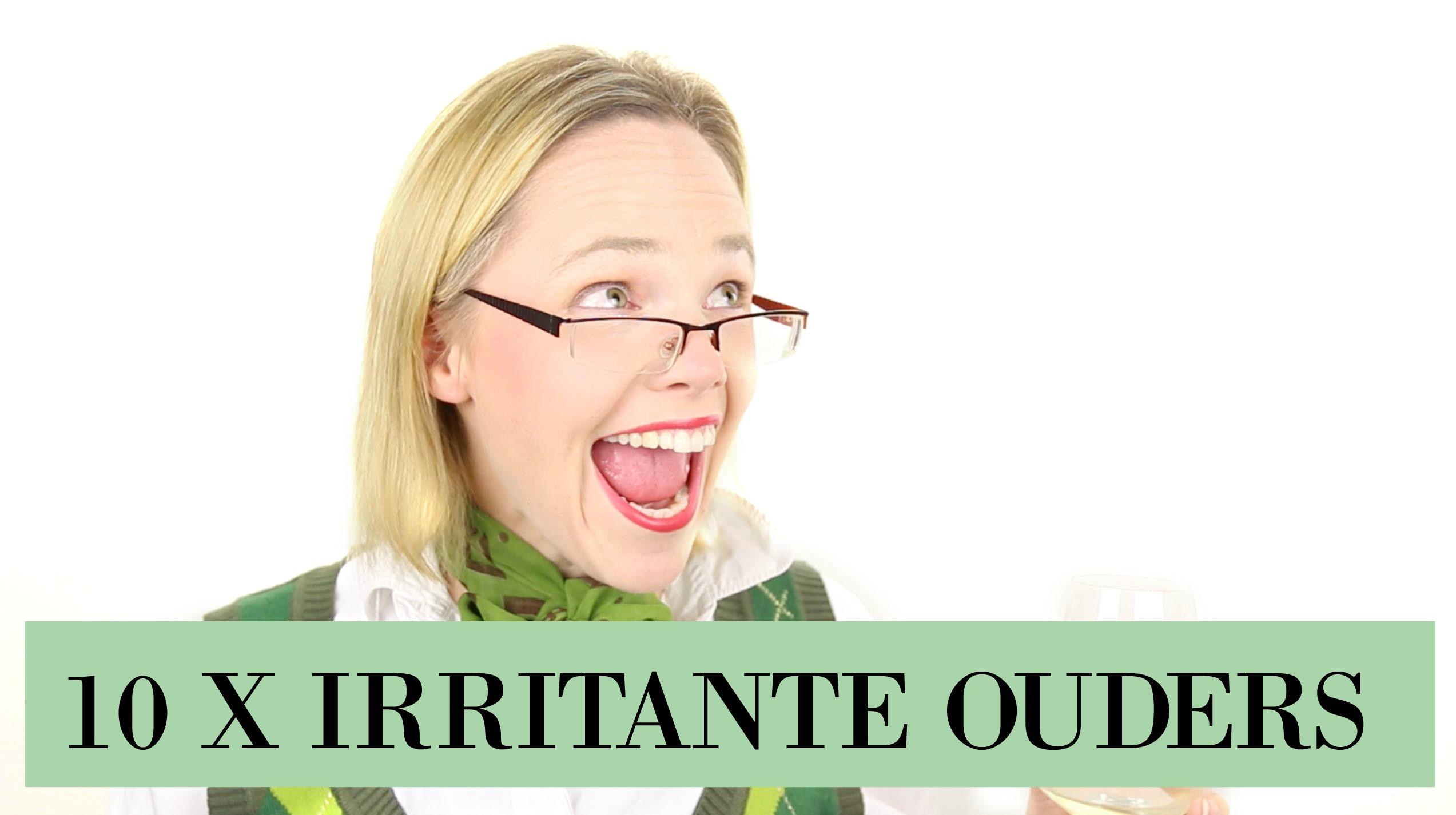 irritante uitspraken van ouders