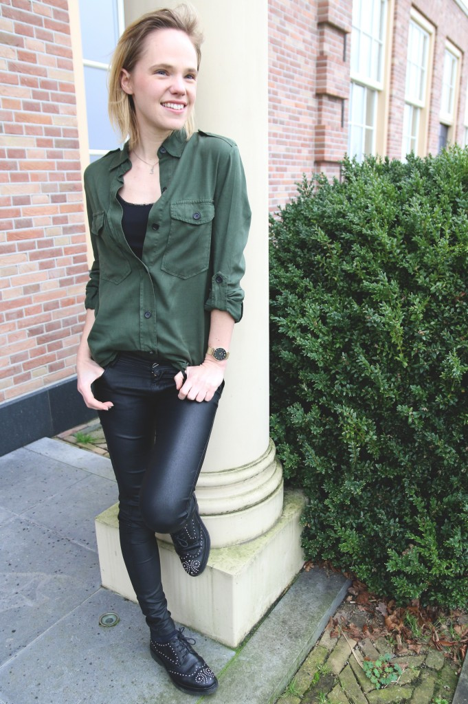 mooi groen groene kleding Cluse horloges