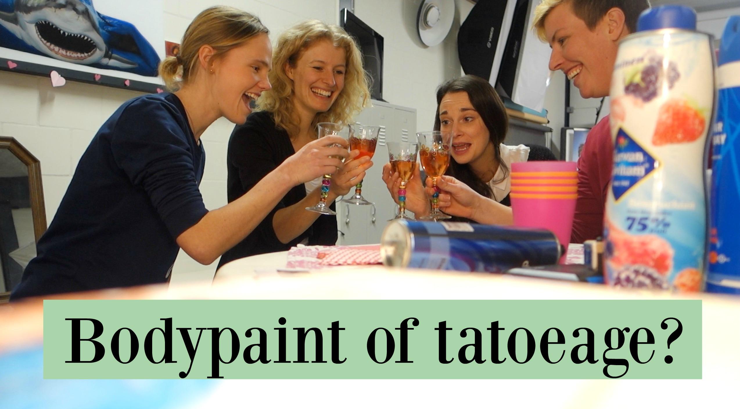 Vlog 72: Bodypaint of tatoeage?