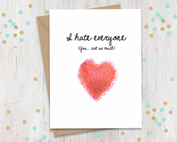 originele en foute Valentijnskaarten