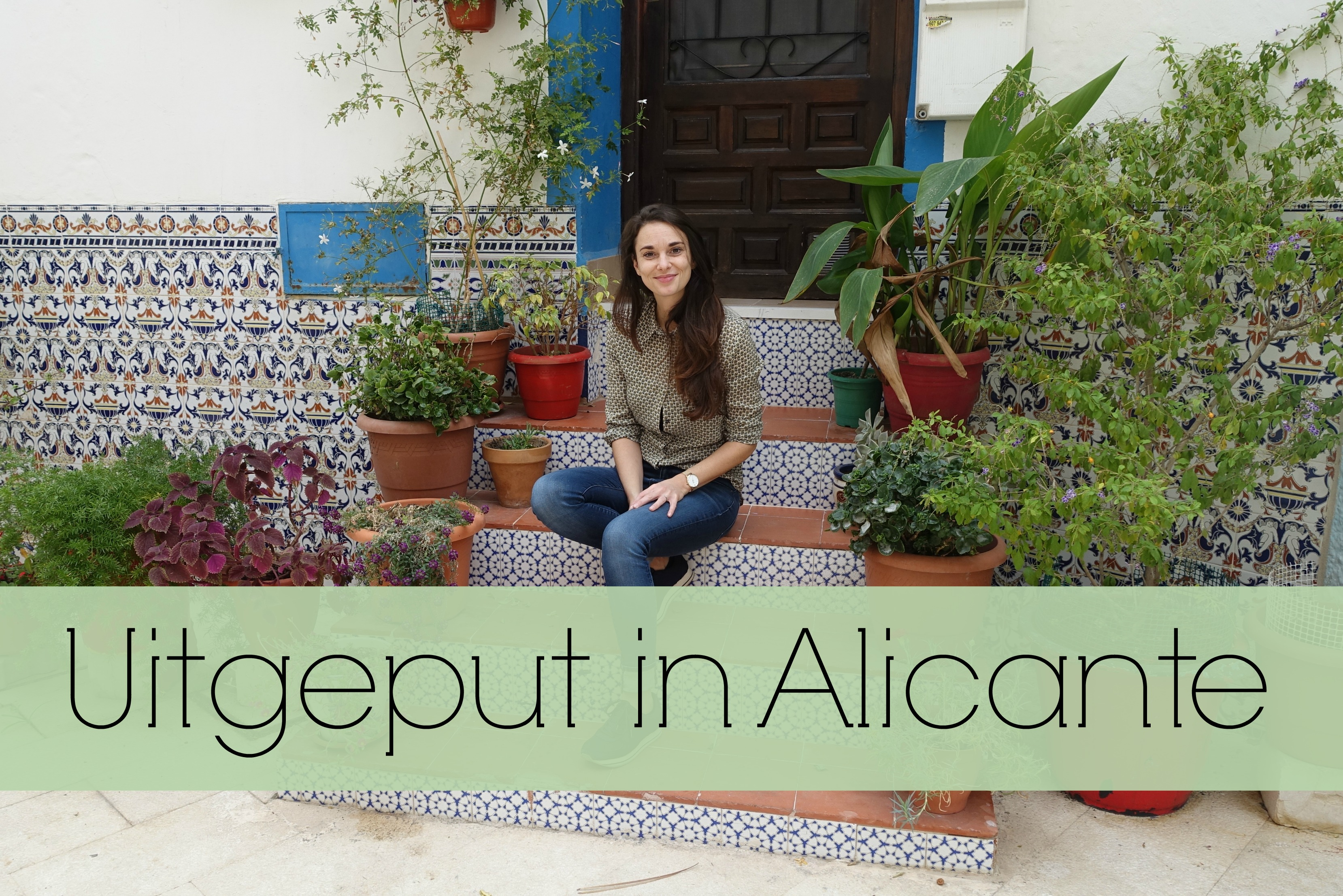 uitgeput in Alicante