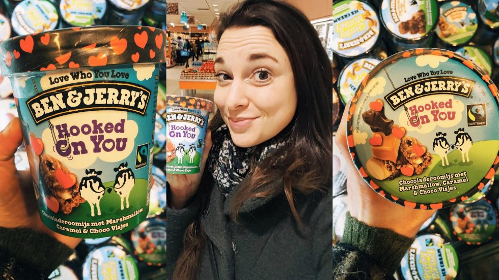 Ben & Jerry's Hooked On You: Love comes in #AllFlavours