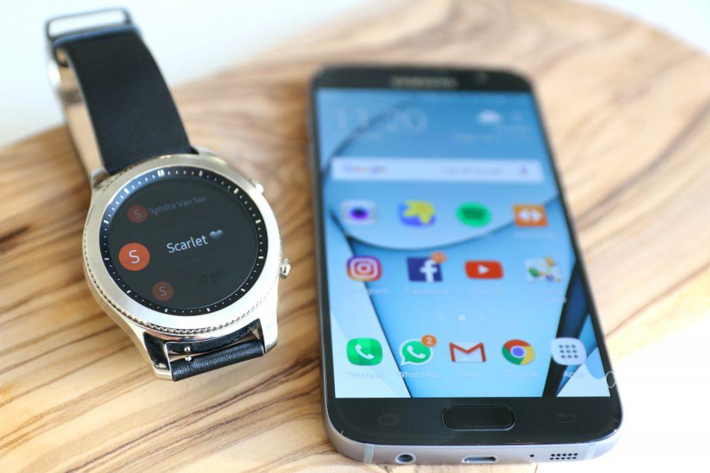 Samsung Gear S3 Review + Van iPhone naar Samsung S7