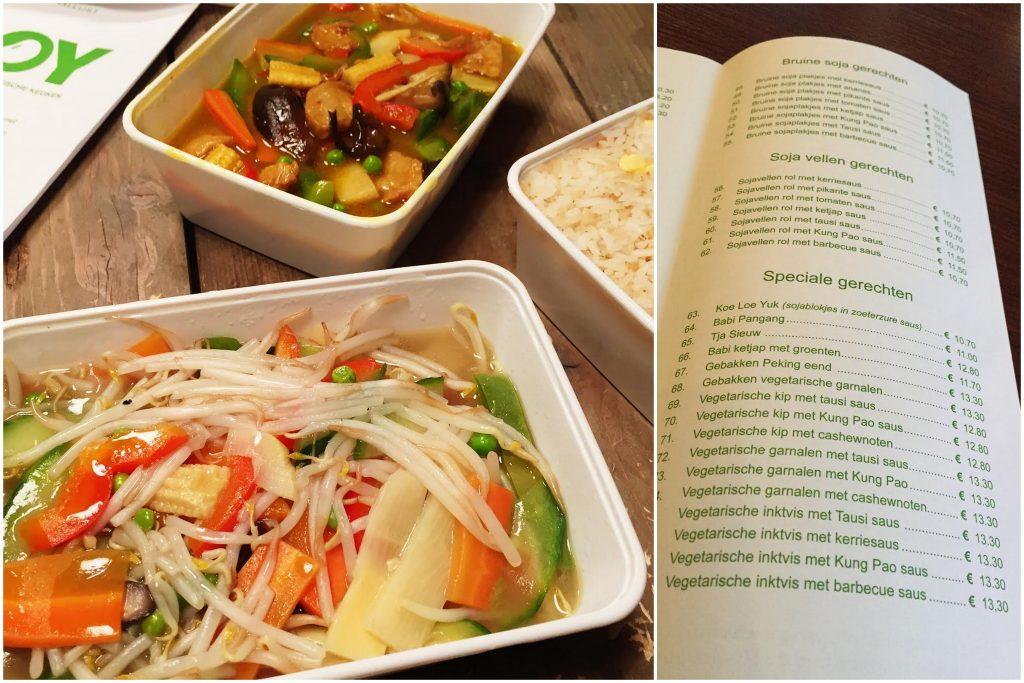 Soy: Vegetarisch Chinees eten