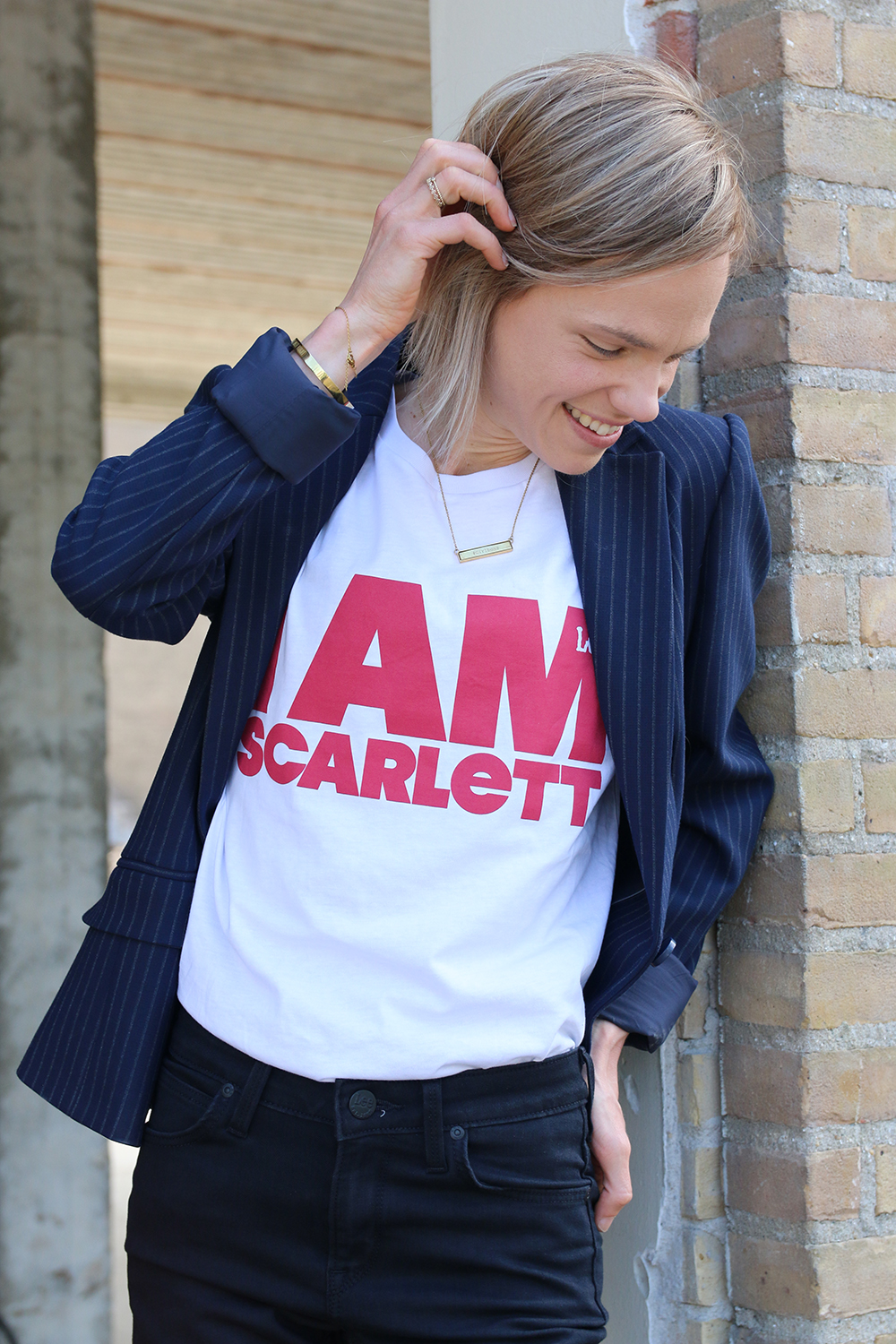 I AM SCARLETT by LEE jeans collectie skinny spijkerbroek