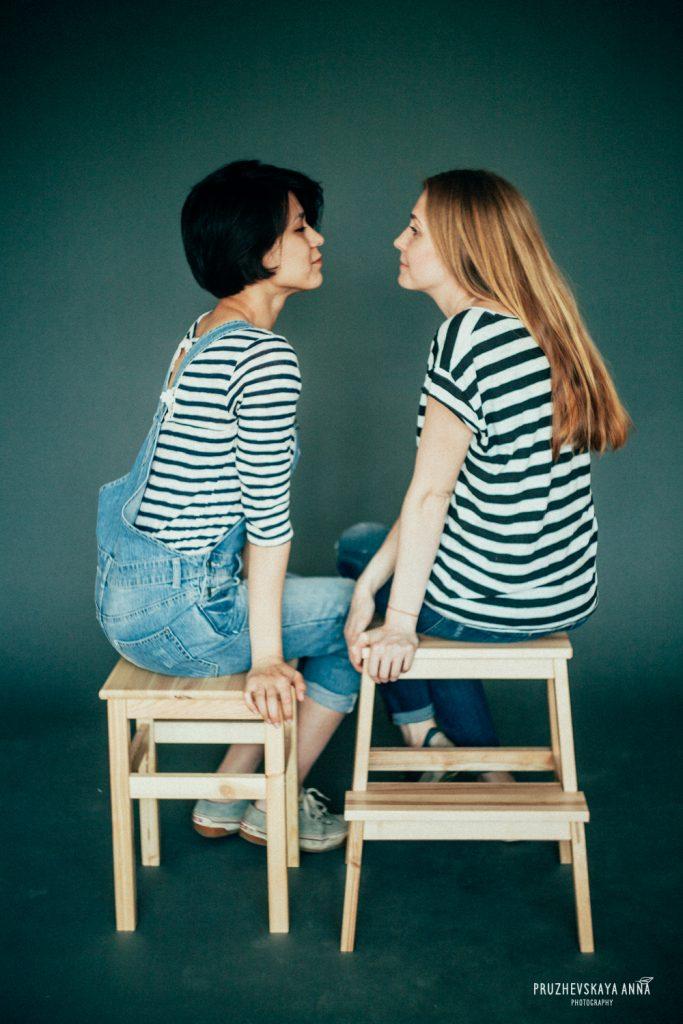 Lesbische stellen hebben meer gelijke taakverdeling