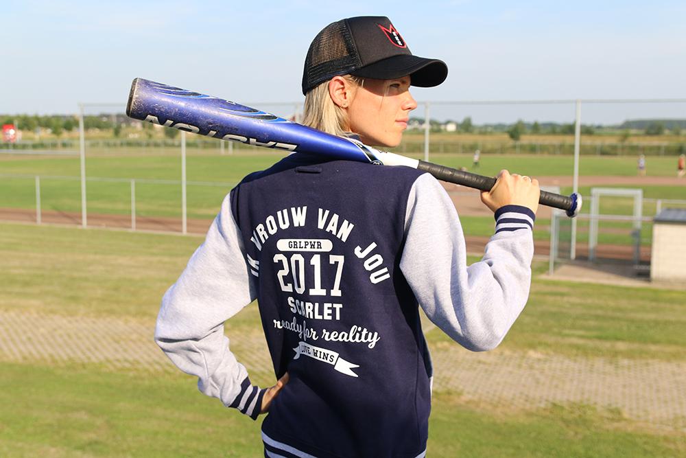 Baseball jack van Ik Vrouw van Jou