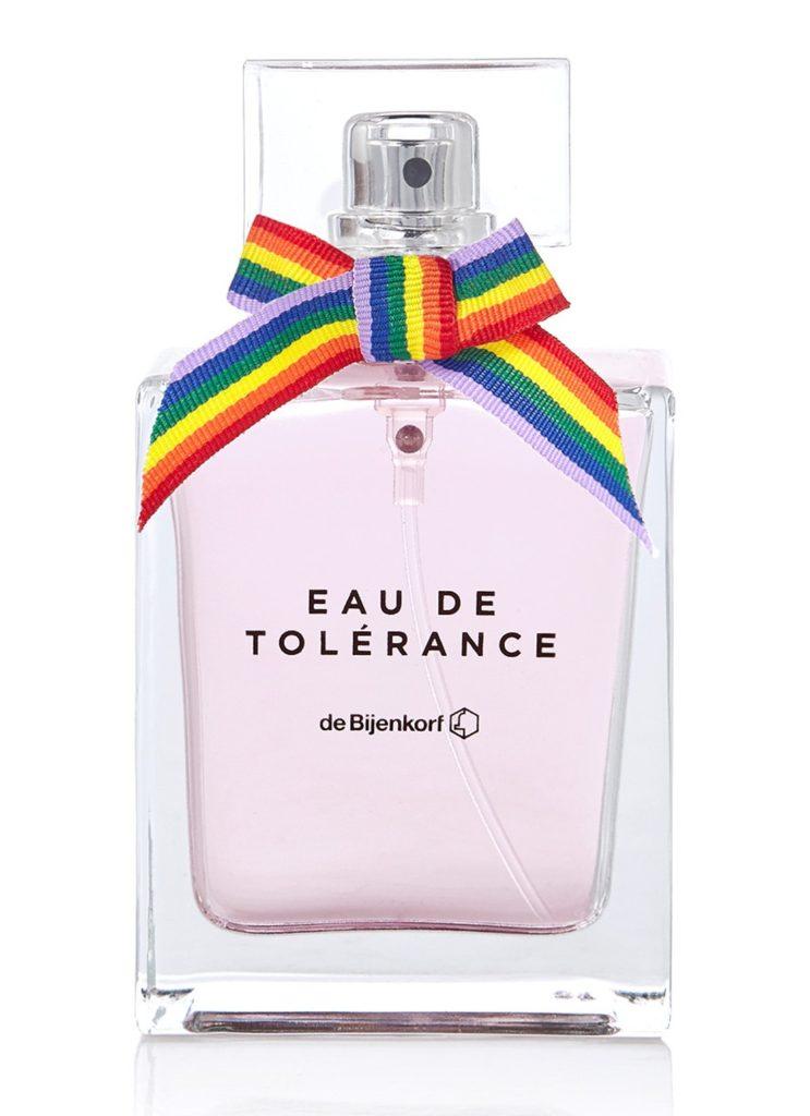De Bijenkorf lanceert Eau de Tolérance Parfum