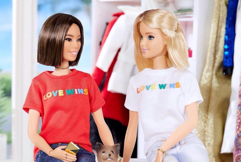 lesbische barbiepop