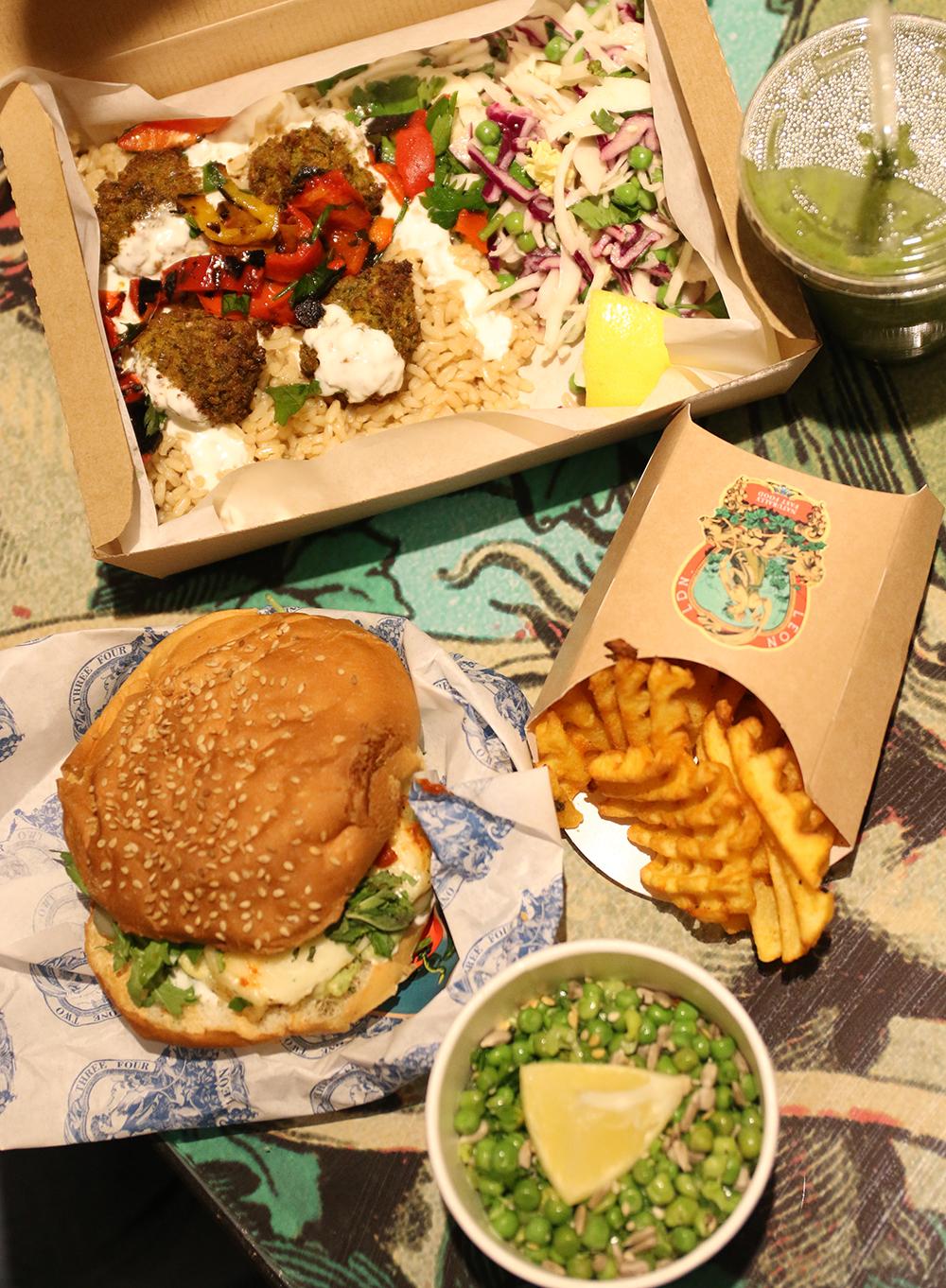 Een gezond Fastfood restaurant: LEON