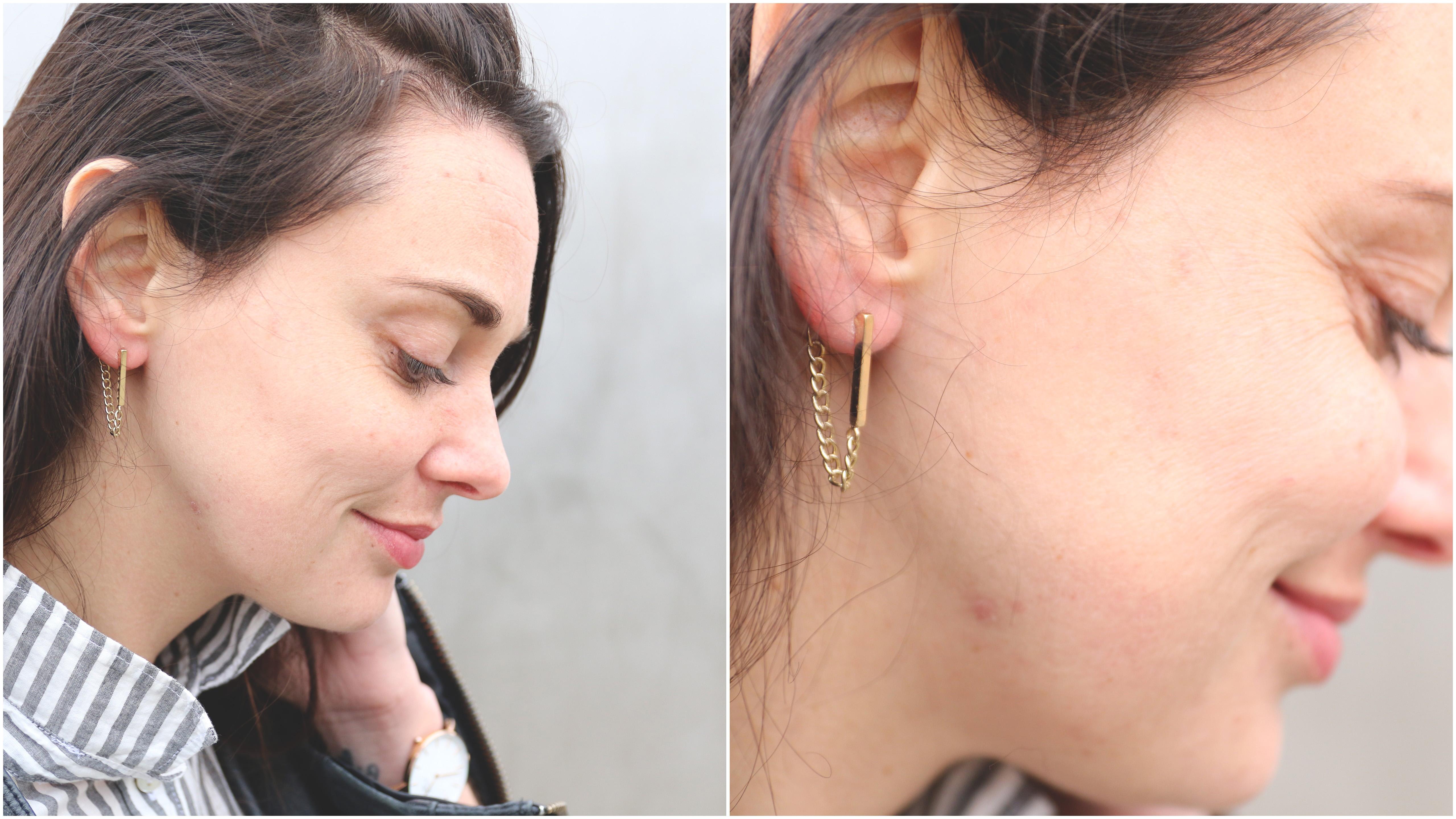 Fabulous We ♡ Minimalistische oorbellen - Ik Vrouw van Jou &MB78