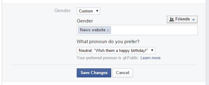transgender facebook