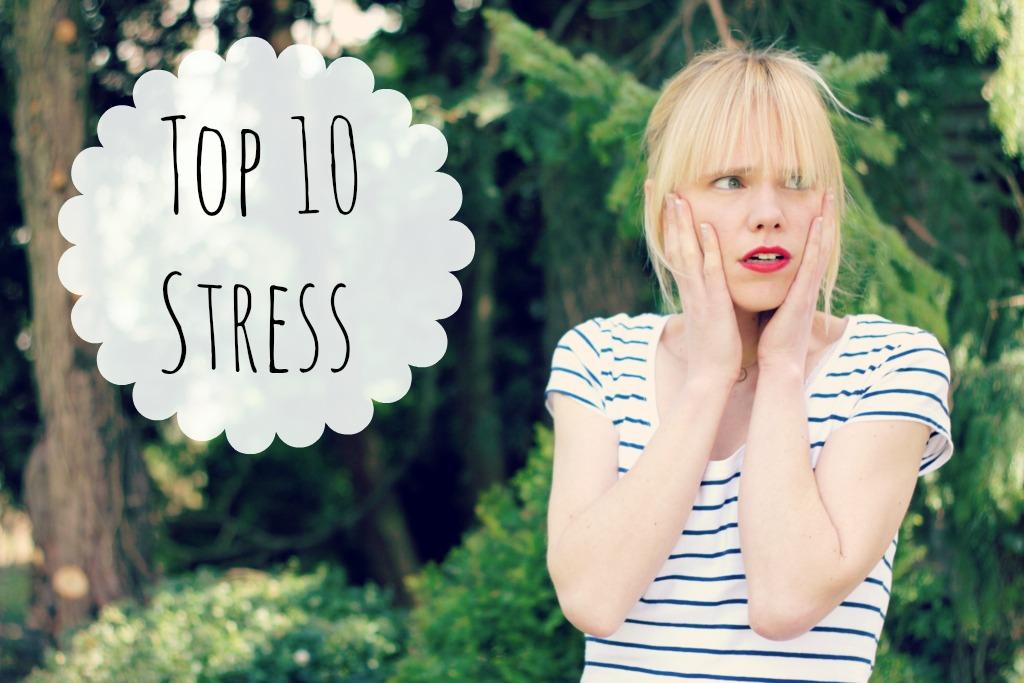 top 10 stress