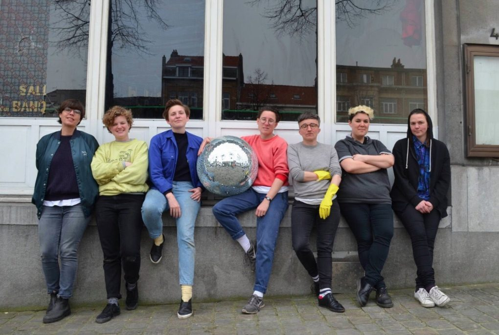 Lesbische pop-up bar in Brussel