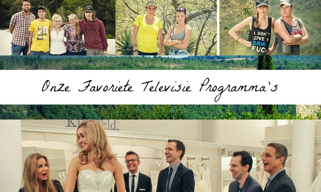 favoriete televisie programma's