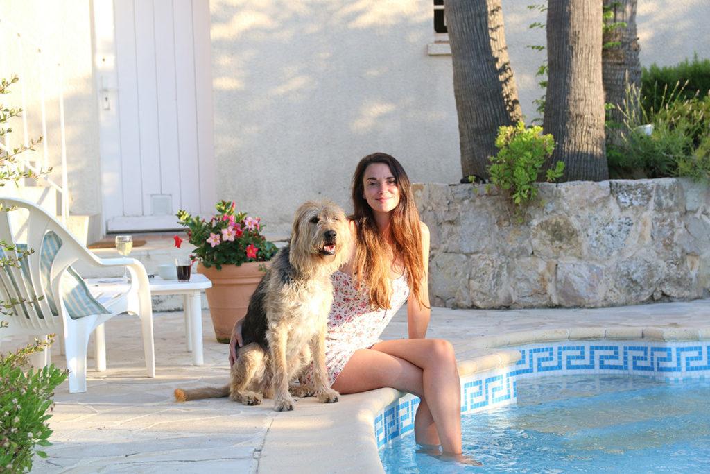 vroeger les issambres belvilla hond frankrijk