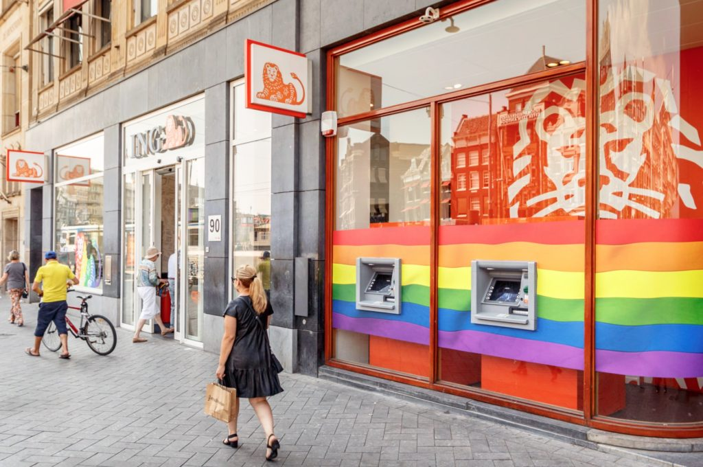 ING lanceert Regenboog betaalpas tijdens Pride Amsterdam