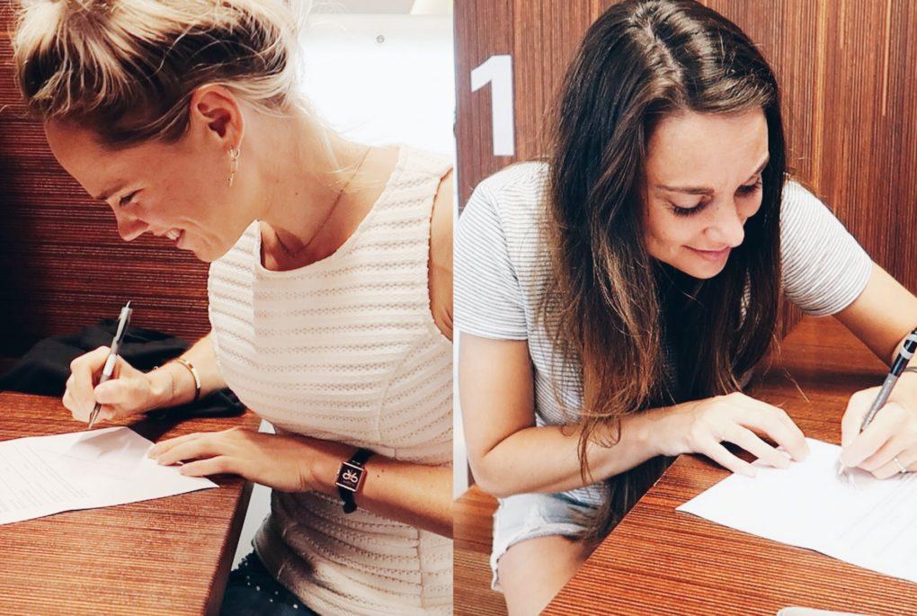 De babynaam & Handtekening zetten | weekvlog 69