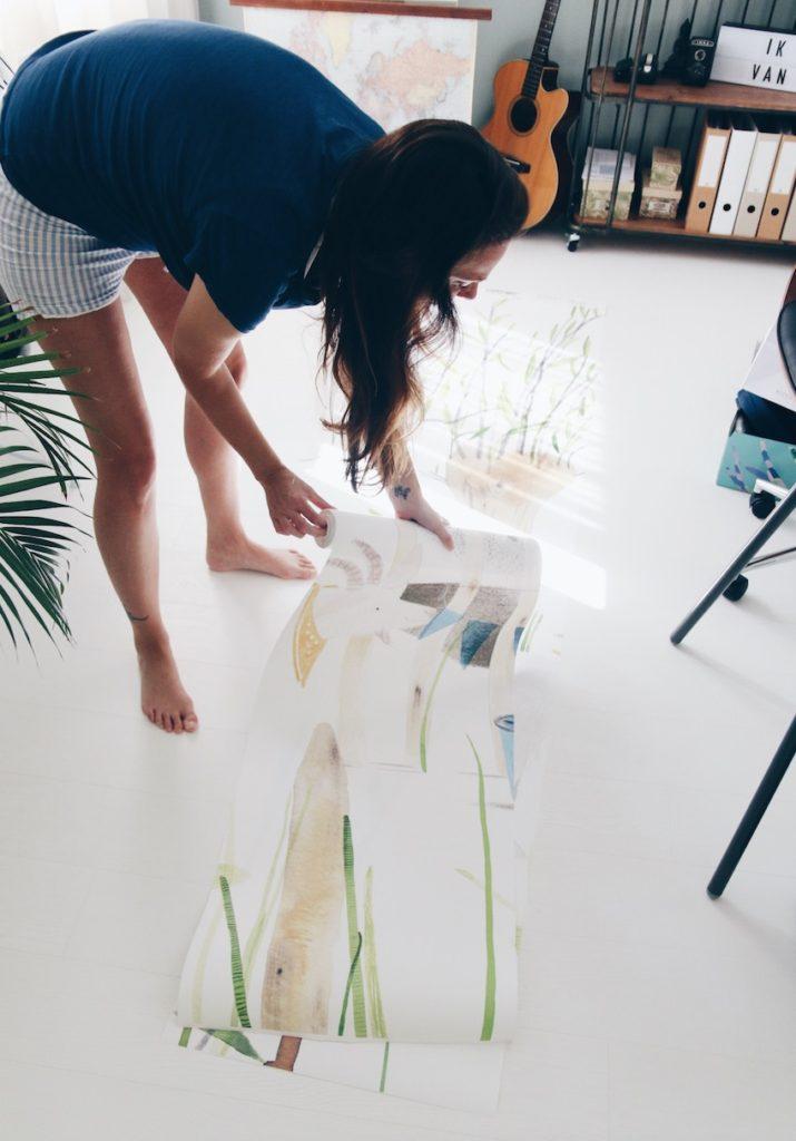 Behang voor de babykamer of kinderkamer eijffinger