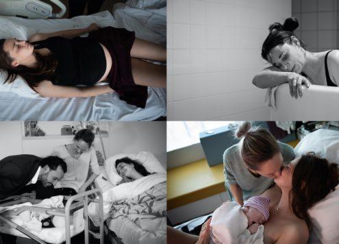 De bevalling en eerste ontmoeting