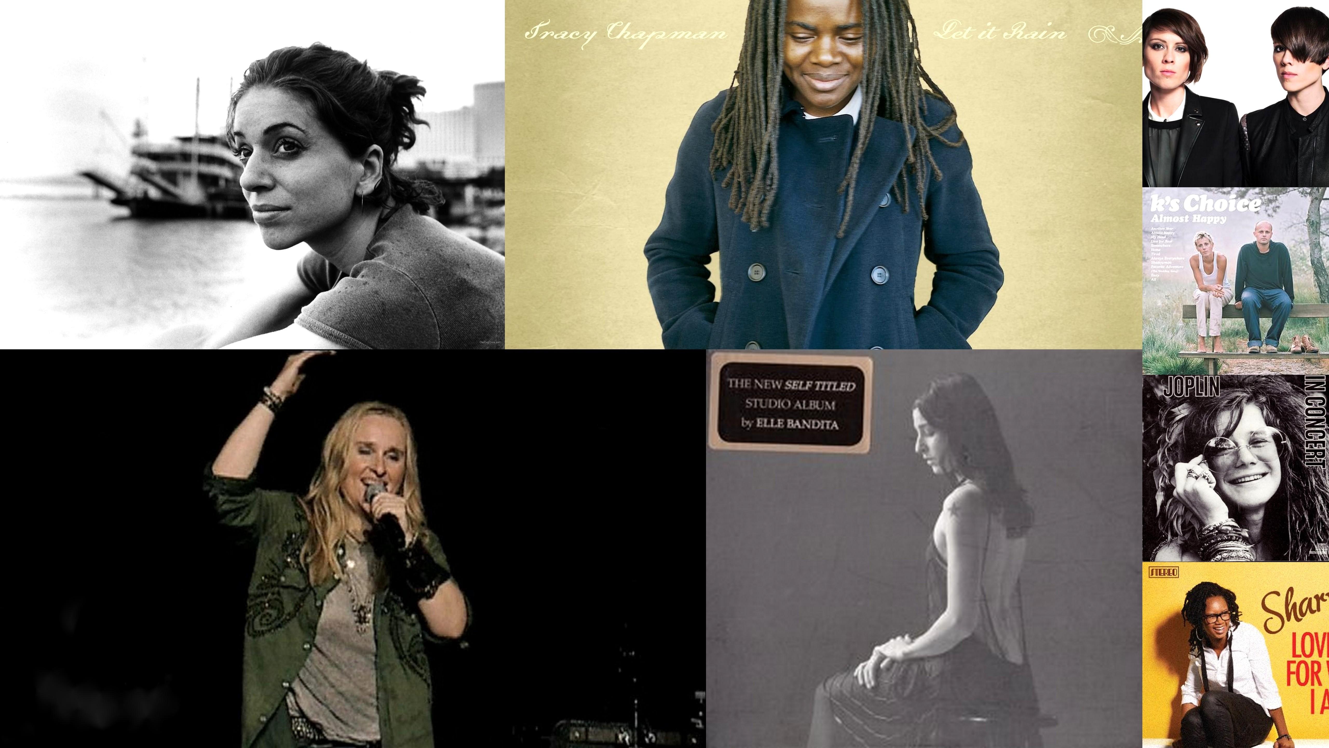 lesbische zangeressen