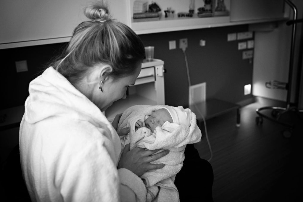 Een geboortefotograaf en ons bevallingsverhaal