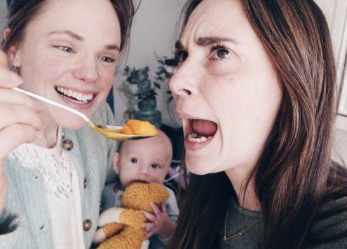 Het eerste baby hapje en Jarig! | Weekvlog 104