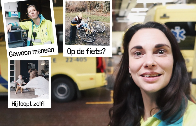Mee met de ambulance | weekvlog 142