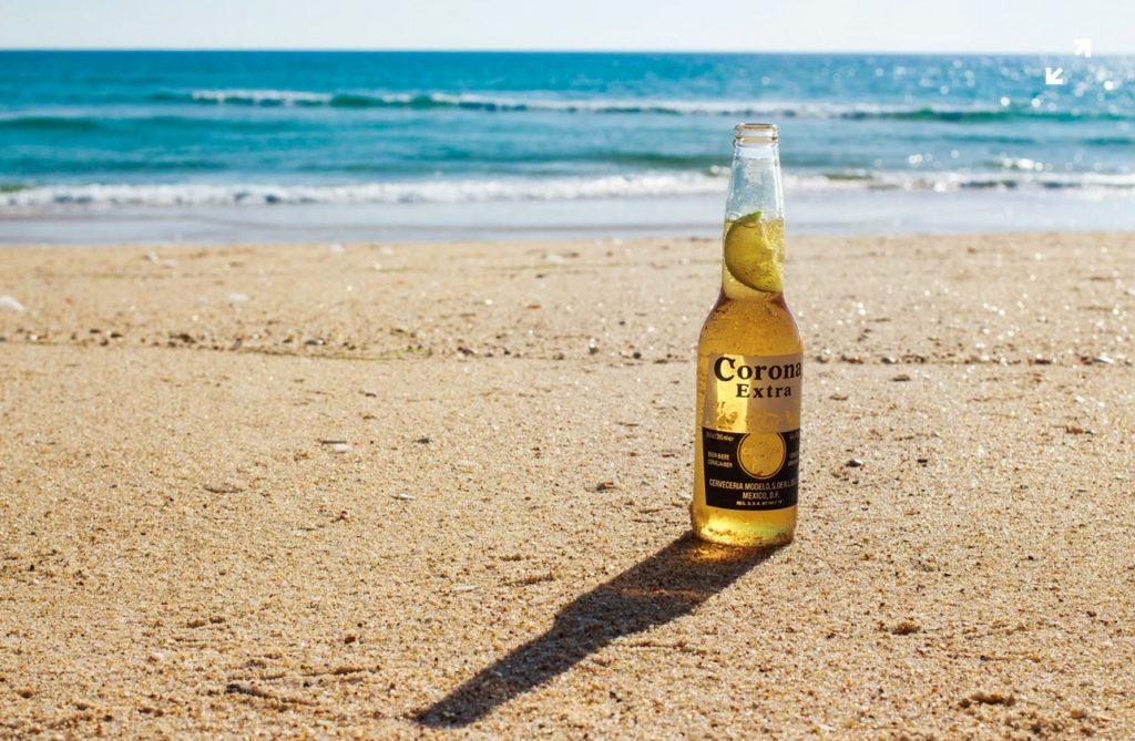 ♦ Je bent benieuwd of het biermerk Corona binnenkort failliet zal gaan en of we dit deze zomer nog gaan drinken.