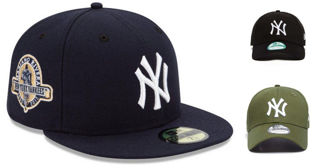 New York Yankees petten met stickers