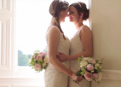 lesbische bruiloften